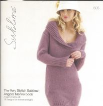 605 - The Very Stylish Sublime Angora Merino book